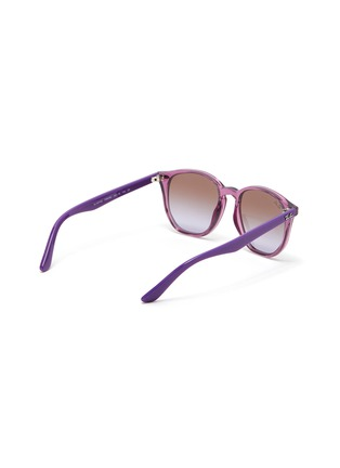 Figure View - Click To Enlarge - RAY-BAN - Angular acetate frame gradient kids sunglasses
