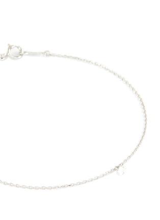 Detail View - Click To Enlarge - PERSÉE PARIS - 'Danae' Diamond 9k White Gold Bracelet
