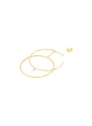 Detail View - Click To Enlarge - PERSÉE PARIS - 'Oribite' diamond yellow gold earring