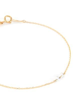 Detail View - Click To Enlarge - PERSÉE PARIS - 'Danae' Diamond 9k Yellow Gold Bracelet
