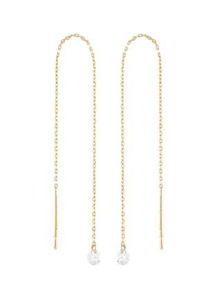 Main View - Click To Enlarge - PERSÉE PARIS - 'Danae' diamond yellow gold earring