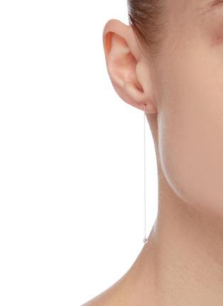 Figure View - Click To Enlarge - PERSÉE PARIS - 'Danae' diamond yellow gold earring