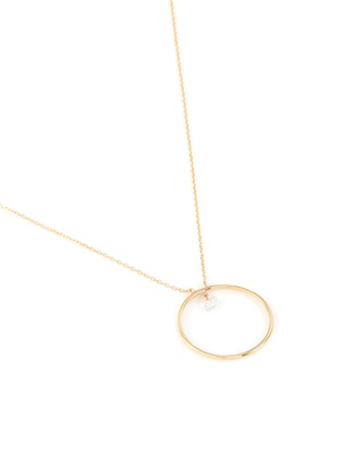 Detail View - Click To Enlarge - PERSÉE PARIS - 'Mini Circle' diamond necklace
