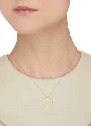 Figure View - Click To Enlarge - PERSÉE PARIS - 'Mini Circle' diamond necklace
