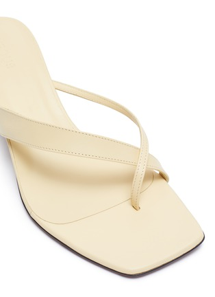 Detail View - Click To Enlarge - NEOUS - 'Florae' Thong Sandals