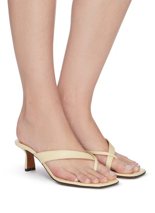 Figure View - Click To Enlarge - NEOUS - 'Florae' Thong Sandals