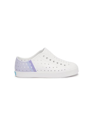 Main View - Click To Enlarge - NATIVE - Jefferson' perforated toddler slip-on sneakers
