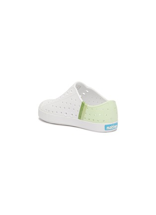 Detail View - Click To Enlarge - NATIVE - Jefferson' perforated toddler slip-on sneakers