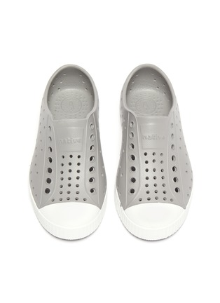 Figure View - Click To Enlarge - NATIVE - Jefferson' perforated toddler slip-on sneakers