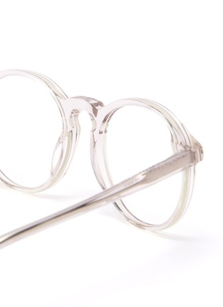 Detail View - Click To Enlarge - SONS + DAUGHTERS - Clark' biodegradable acetate frame kids optical glasses
