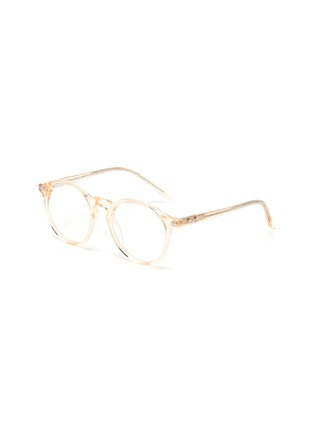 Main View - Click To Enlarge - SONS + DAUGHTERS - Clark' biodegradable acetate frame kids optical glasses