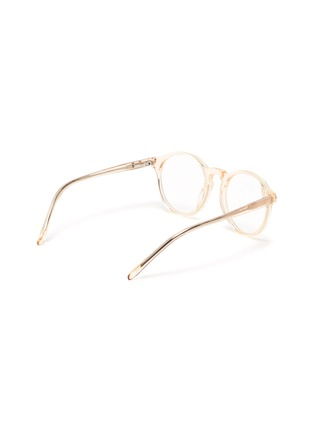 Figure View - Click To Enlarge - SONS + DAUGHTERS - Clark' biodegradable acetate frame kids optical glasses