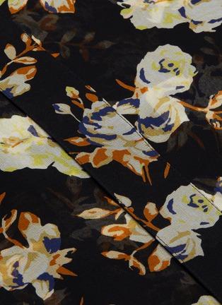 - VICTORIA BECKHAM - Floral print silk blouse