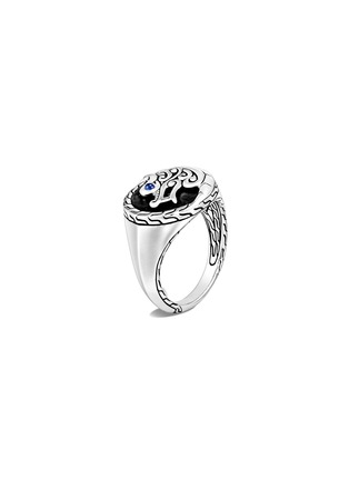 Main View - Click To Enlarge - JOHN HARDY - 'Legends Naga' sapphire sterling silver signet ring