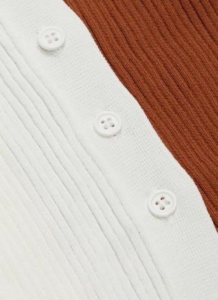 - STAUD - Shoko' panelled rib knit dress