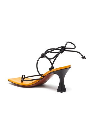 - MANU ATELIER - Freya' lace up thong leather sandals