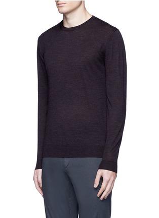 Front View - Click To Enlarge - Altea - Stripe virgin wool sweater