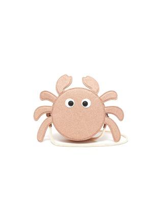 Main View - Click To Enlarge - STELLA MCCARTNEY KIDS - Glitter crab kids shoulder bag