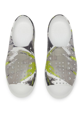 Figure View - Click To Enlarge - NATIVE - Jefferson' Perforated kids slip-on sneakers