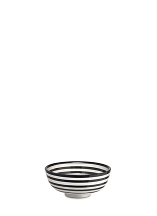 Main View - Click To Enlarge - CHABI CHIC - Stripe salad bowl