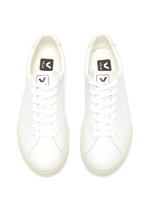 Detail View - Click To Enlarge - VEJA - 'Esplar' lace up leather sneakers