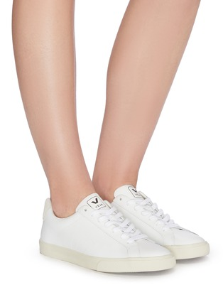 Figure View - Click To Enlarge - VEJA - 'Esplar' lace up leather sneakers