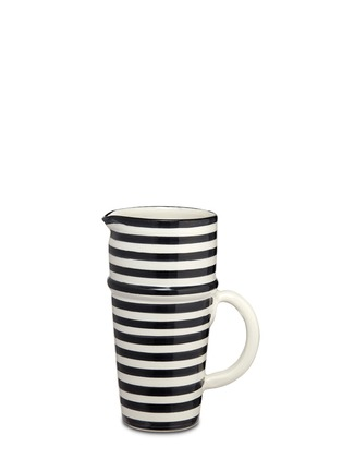 Main View - Click To Enlarge - CHABI CHIC - Stripe jug