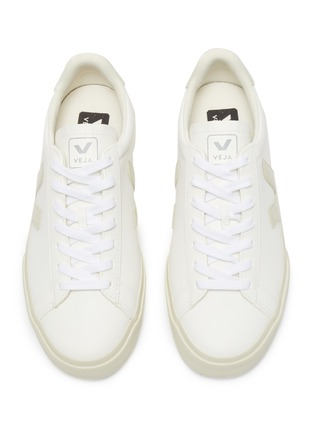 Detail View - Click To Enlarge - VEJA - 'Campo' lace up chromefree leather sneakers