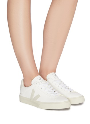 Figure View - Click To Enlarge - VEJA - 'Campo' lace up chromefree leather sneakers