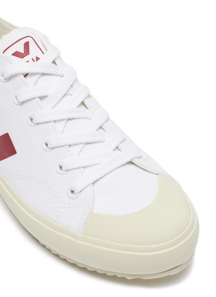 Detail View - Click To Enlarge - VEJA - 'Nova' canvas lace up sneakers