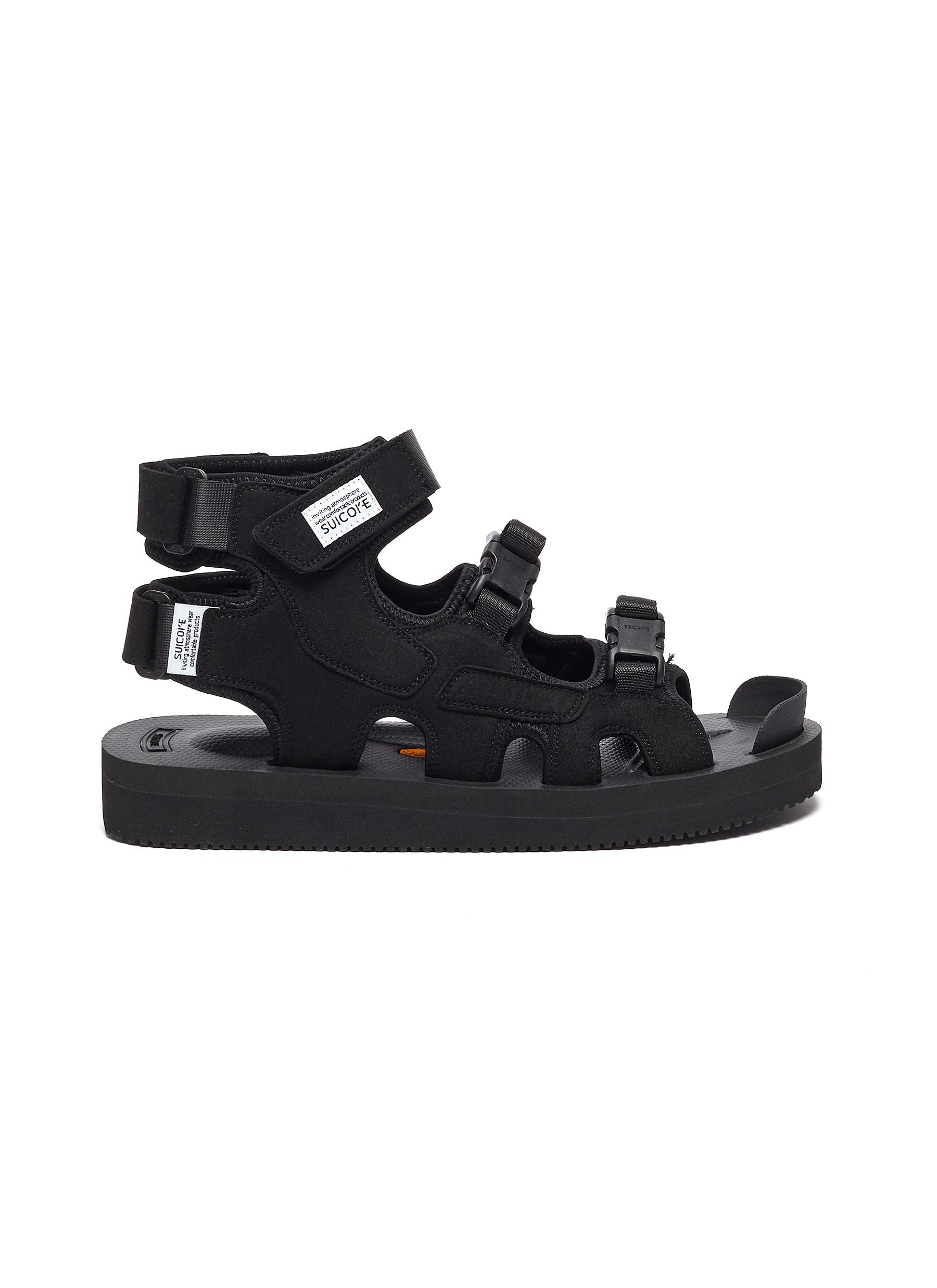 Suicoke THREE BUCKLE CAGED SANDALS