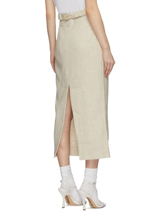 Back View - Click To Enlarge - JACQUEMUS - 'Valerie' pencil skirt
