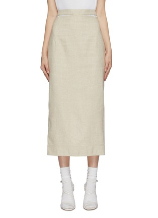 Main View - Click To Enlarge - JACQUEMUS - 'Valerie' pencil skirt