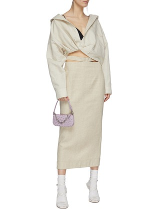 Figure View - Click To Enlarge - JACQUEMUS - 'Valerie' pencil skirt