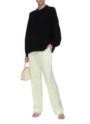 Figure View - Click To Enlarge - 3.1 PHILLIP LIM - Crew neck knit sweater