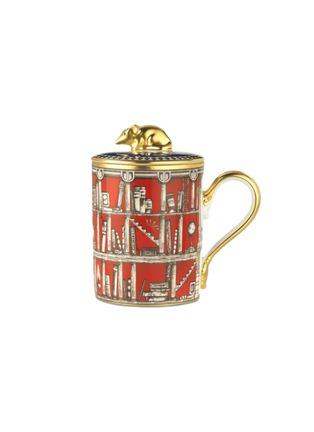 Main View - Click To Enlarge - GINORI 1735 - Totem Rat Porcelain Mug with cover – 400ml