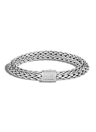 Main View - Click To Enlarge - JOHN HARDY - 'Classic Chain Tiga' diamond sterling silver bracelet