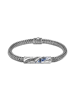 Main View - Click To Enlarge - JOHN HARDY - 'Lahar' sapphire sterling silver station bracelet