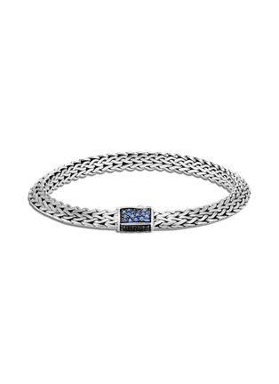 Main View - Click To Enlarge - JOHN HARDY - 'Classic Chain Tiga' sapphire sterling silver bracelet