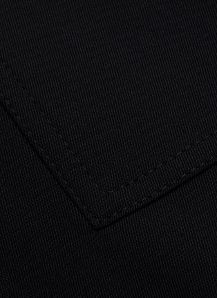 - PROENZA SCHOULER - Leather foldover panel pleat skirt