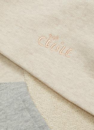 - ÊTRE CÉCILE - Colourblock panel hoodie