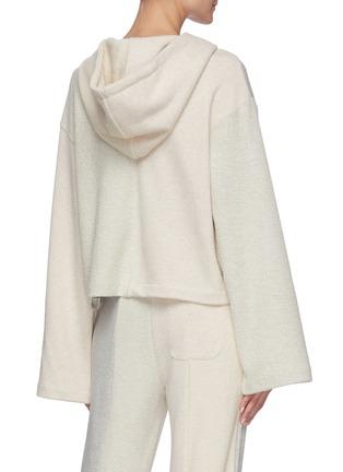 Back View - Click To Enlarge - ÊTRE CÉCILE - Colourblock panel hoodie