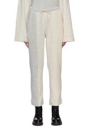 Main View - Click To Enlarge - ÊTRE CÉCILE - Colourblock panel track pants