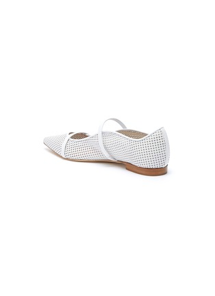 - MALONE SOULIERS - Maureen perforated leather flats