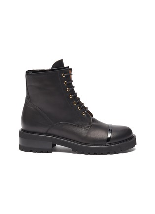 Main View - Click To Enlarge - MALONE SOULIERS - 'Bryce' combat boots