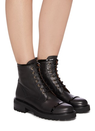 Figure View - Click To Enlarge - MALONE SOULIERS - 'Bryce' combat boots
