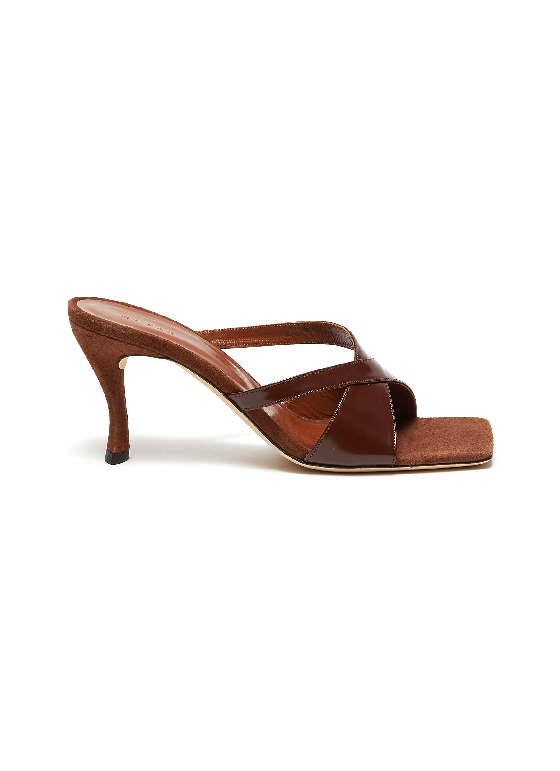 shop By Far Kitty' leather sandals online