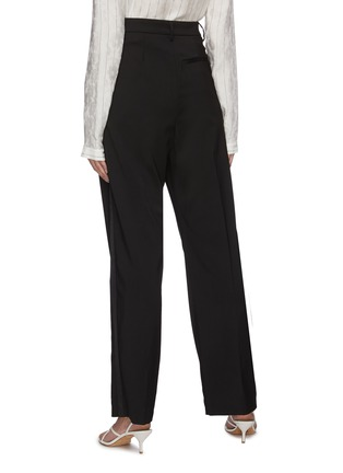 Back View - Click To Enlarge - BARENA - 'Clyde Elga' high waist pleated suiting pants