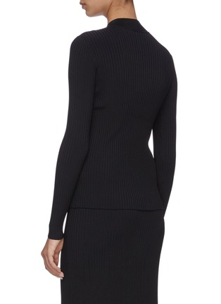 Back View - Click To Enlarge - DION LEE - Cable twist top