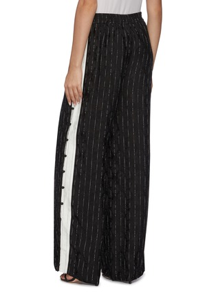 Back View - Click To Enlarge - DION LEE - Pinstripe track pants